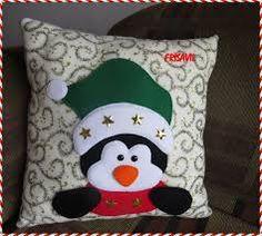 Resultado de imagen para cojines navideños moldes