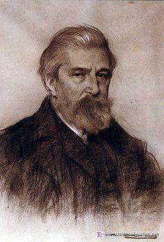 Casas, Ramon (1866-1931) - Portrait of the Painter Santiago Rusiñol (Museu Cau Ferrat, Sitges, Spain) by RasMarley, via Flickr