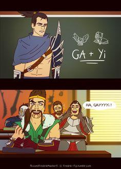 Don't buy GA on Master Yi.