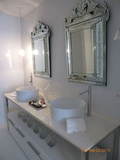 Glam - Bathroom - Photos by Urvan Studios | Wayfair