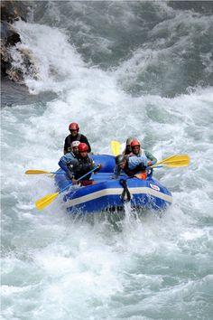 Adventure - White-water rafting, Nepal #sports