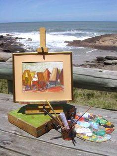 Oleos de Punta del Diablo - Arte : Punta del Diablo, Rocha Uruguay |Portal