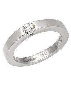 Product Name Cartier 18K Gold Diamond Declaration Ring at Modnique.com