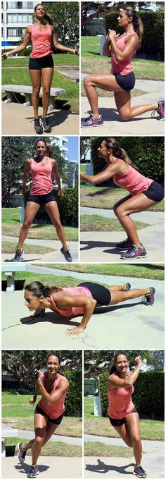This is one of my favorite 10-minute workouts for when I don't have access to any equipment. I will do it at home or in the hotel room when traveling.
