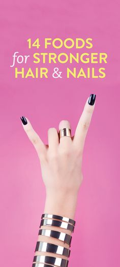 foods that strengthen your hair & nails #beauty