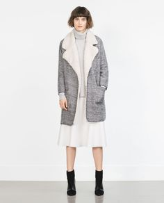 Image 1 of JACKET WITH LAPELS from Zara