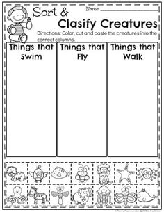 Measurement Worksheets – Planning Playtime Sort and Clasify Measurement Worksheets for Kindergarten Math Measurement Kindergarten, Measurement Worksheets, Science Worksheets, Preschool Learning Activities, Kindergarten Activities, Preschool Activities, Kids Learning, Science Lessons, Worksheets For Preschoolers