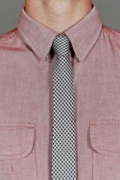 Ben Sherman Britannia Pine Tie