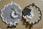 Прихватка-овечка (облачко)