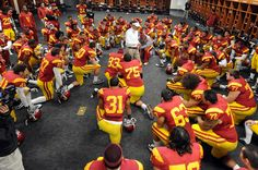 USC Trojan Football Coach Lane Kiffin