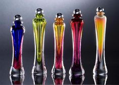 Perfume Bottles: Laurie Thal: Art Glass Perfume Bottle - Artful Home