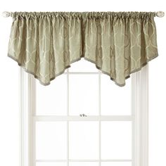Scenario 194 174 Sheer Voile Ascot Valance Curtains I Like In