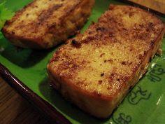 Tofu frit au miso