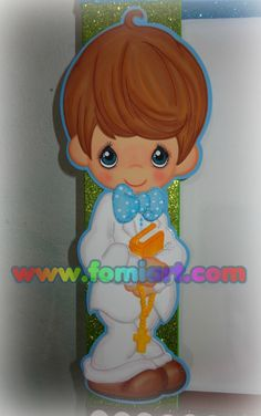 Precious Moments En fomiart Precious Moments, Free Personals, First Communion, Holidays And Events, Tweety, Smurfs, Origami, Religion, Seasons