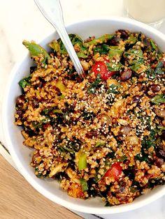 Evolution Fresh Quinoa, Kale Salad Top