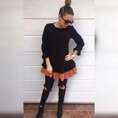 Táto dvojfarebná tunika   je kvalitná krásna a zaručene v nej budeš štýlová a originálna  dostupné veľkosti SM -voľnejší strih dodanie do 24hod   v akciovej cene 2890 Objednaj v directe  na FB  alebo priamo na  http://ift.tt/2gRtGQP  #tvojstyl#fashion#fashionista#shoppaholic#dnesnosim