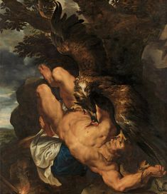 """Happy birthday to Peter Paul Rubens, the artist behind the enormous and captivating """"Prometheus Bound."""" See works by Rubens in """"The Wrath of the Gods: Masterpieces by Rubens, Michelangelo, and. Rubens, Art Museum, History Painting, Philadelphia Museum Of Art, Rubens Paintings, Painting Reproductions, Mythology, Animal Painter, Art History"""