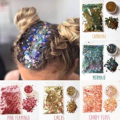 Glitter Sequins Eyeshadow Face&Body Shimmer Powder Eye Nail Art Beauty Tool NEW Glitter Roots, Glitter Face, Glitter Nail Art, Glitter Makeup, Glitter Bomb, Glitter Vinyl, Diy Hair Glitter, Glitter Tattoos, Glittery Nails