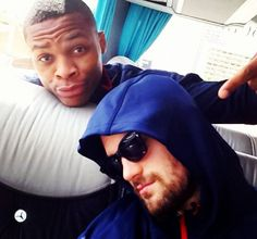 Kevin Love and Russell Westbrook <3