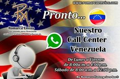Muy pronto #RomarcaEnvios tendrá call center en Venezuela.  #EnvioDeDinero #VenezolanosEnElMundo