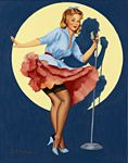 Fiona Stephenson - Pinup Girl - In The Spotlight - 2013