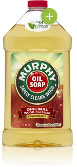 Murphy Oil Soap - Original, need to remember to try as well