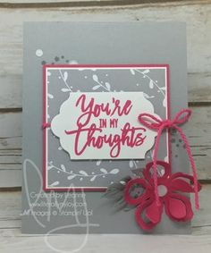 Thoughts — Literally My Joy Literally Me, Make Your Mark, Sympathy Cards, Inspire Others, Just Love, Card Stock, Stampin Up, Joy, Thoughts