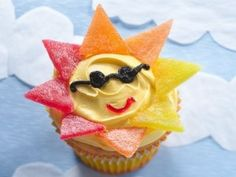 Super Cute (and Easy) Birthday Cupcakes for Kids  #cupcakes