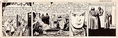 George Wunder Terry and the Pirates Original Comic Strip Art 1950!   eBay