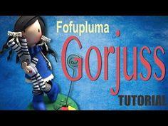 ♥FOFUCHA Y PLUMA♥ Pluma decorada en forma de fofucha♥_ ♥♥CREACIONES mägicas♥♥ - YouTube