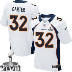 Tony Carter Elite Jersey-80%OFF Nike Tony Carter Elite Jersey at Broncos Shop. (Elite Nike Men's Tony Carter White Super Bowl XLVIII Jersey) Denver Broncos Road #32 NFL Easy Returns.