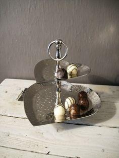Hjertesølvfat til konfekt! www.buadekor.no #buadekor