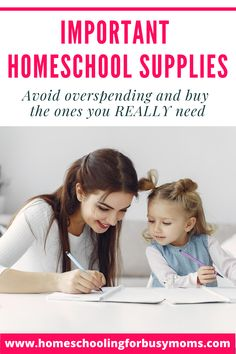 """One of the most exciting things about homeschooling is creating a homeschool supply list. But as exciting as it may seem, it may also be overwhelming to see your list getting longer and may fall in that pit of """"over shopping"""". It is important to create a homeschool supply checklist so you do not compulsively cart everything that you may find. #homeschoolsupplies #homeschoolmaterials #homeschoolsupplieschecklist"""