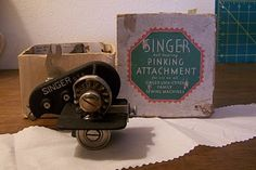 Spare Time (For Sewing): Using a Vintage Sewing Machine,  has a lot of tips about attachments
