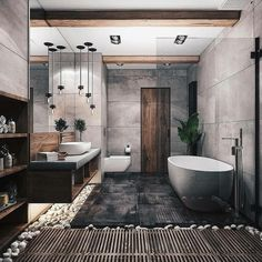 """Browse photos of Small Bathroom Tile Design. Find suggestions and inspiration for Small Bathroom Tile Design to enhance your house. Dream Bathrooms, Amazing Bathrooms, Spa Bathrooms, Master Bathrooms, Small Bathroom, Master Baths, Luxury Bathrooms, Bathroom Modern, Natural Bathroom"