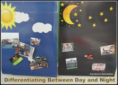 Differentiation between Day and Night time Activities