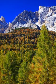 La Tofana mountain, Dolomites, Italy