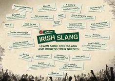 Irish Slangs.
