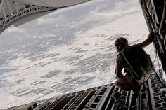 Air delivery cargo drop by Official U.S. Air Force, via Flickr