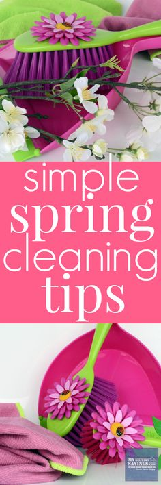 Easy Spring Cleaning Tips!