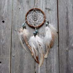 Tree of Life  Car Dreamcatcher  Small Dream by VagaBoundPeople