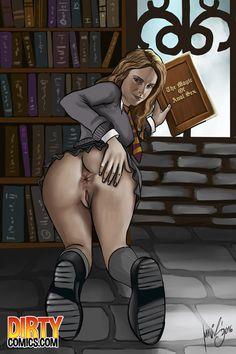 Hermione Jean Granger want stiff fucky-fucky in both slots