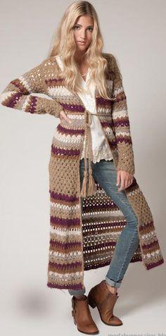 Agostina Bianchi crochet coat