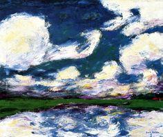Light Clouds Emile Nolde - 1927
