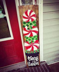 Christmas Signs Wood, Holiday Signs, Christmas Porch, Christmas Time, Christmas Decorations, Christmas Ornaments, Xmas, Christmas Snowman, Porch Signs
