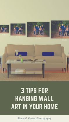 tips for hanging wall art, designing walls, wall art displays Outdoor Sofa, Outdoor Furniture, Outdoor Decor, Hanging Pictures, Hanging Wall Art, Wall Design, Walls, Photography, Home Decor