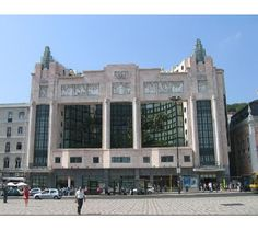 """Art Déco @ #Portugal -""""Eden"""" building, #Lisbon downtown - a former theater, turned into an #hotel"""