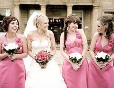 pink bridesmaids #pink