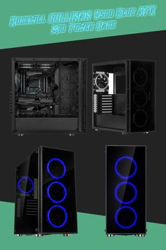 Computers / Computer Components / Computer Parts / Computer Hardware / Computer Cases / Rosewill / Rosewill Cases / Gaming / Gaming PC Tower Games, Drive Bay, Cooler Master, Pc Cases, Computer Hardware, Cable Management, Computer Case, Tech Support, Blue Rings