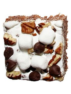Rocky Road Nutella Treats plus four more deluxe Rice Krispie treat recipes. All look amazing!